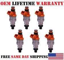 6pcs Nikki OEM Fuel Injectors for 1991-2000 Plymouth,Mitsubishi,Dodge,Chrysler