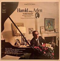HAROLD SINGS ARLEN with friend BARBRA STREISAND COLUMBIA AOS 2920 STEREO 1966 LP