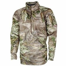 Easton Core4Element Selway Fleece 1/4 Zip Pullover Small Realtree Max-1 Camo
