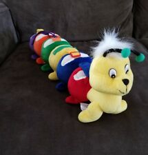 """21"""" Discovery Toys Caterpillar Dress-A-Pillar Plush Learning Toy"""