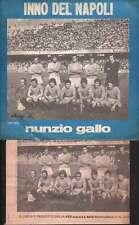 """Nunzio Gallo 45giri 7"""" Inno Del Napoli / Uocchie E Maluocchie Nuovo SHP 2002"""