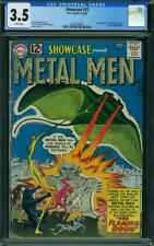 Showcase #37 CGC 3.5 DC 1962 1st Metal Men! Key Silver! White Pages! K10 1 cm