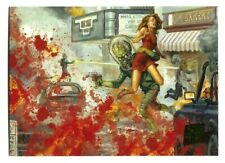TOPPS MARS ATTACKS INVASION 2013**EXTRA GORE SINGLE NO.23 NOWHERE TO HIDE