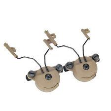 DLP Tac ARC Rail Adaptor Set for Peltor Comtac Headset - Team Wendy EXFIL Helmet