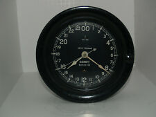 Seth Thomas Running Ww Ii U.S.Navy 24 Hour Dial Bake Lite 8 Day Clock