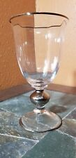 """Mikasa """"Country French Platinum"""" Water Glass Goblet 6 3/4"""""""
