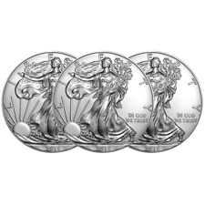 Lot of 3 - 2019 $1 American Silver Eagle 1 oz Brilliant Uncirculated