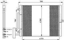 NRF Condensador, aire acondicionado PORSCHE BOXSTER 911 35307