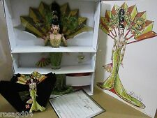 Bob Mackie Fantasy Goddess Of Asia Barbie Doll 1st In A Series + Sketch NEW A1