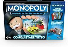 Hasbro Monopoly Super Electronic Banking Gioco da Tavolo (4748F8AC96)