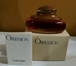 Vintage Calvin Klein OBSESSION Perfume Women 1.7oz Cologne Splash Boxed