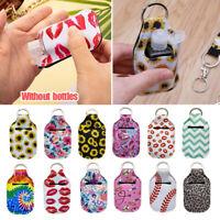 Lip Balm Bag Keyrings Travel Bottle Pouch Container Key Chain Charm Bag Pendant