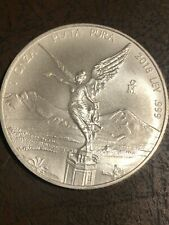2018 Mo Mexico 1 onza Silver Libertad 1 oz .999 Bu beautiful coin low mintage
