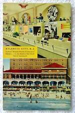 POSTCARD WONDER WORLD CHEMISTRY EXHIBIT ATLANTIC CITY NEW JERSEY #100
