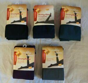 Nur Die Trend & Style Ladies 100 Denier Fleece Inner Tights - 5 Colours