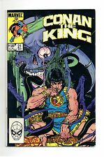 Conan The King Vol 1 No 21 Mar 1984 (VFN+ to NM-)Marvel, Double Size, Modern Age