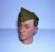 Banjoman 1:6 Scale Custom WW2 British Field Service Cap - Khaki Green