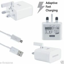 Official Wall Fast Charger Plug for Samsung Galaxy S6 Edge Plus Note 4 5 + Cable