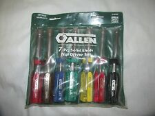 "7 Piece Set of Allen Nut Drivers 3/16"" to 1/2"" NIce! LQQK!"