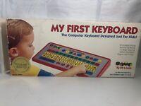 Vintage 1994 RF-Link Kidtech My First Keyboard RF90201-01 Original Box w/manual