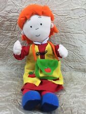 "Caillou's Talking Sister Rosie w/ Hard to Find' Activity Book & Bag 2002 (15"" T)"