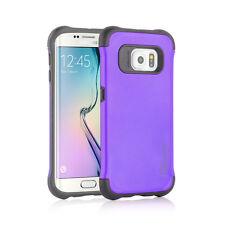 Sooper Cool Protective Hybrid Cover Case for Samsung Galaxy S6 Edge Purple SC