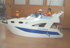 Playmobil 100% Complete Set 3645 Blue Marlin Boat Large Family Yacht