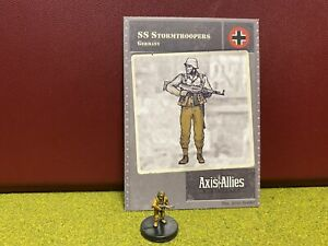Axis & Allies Miniatures, World War II, Germany, SS Stormtroopers Soldier