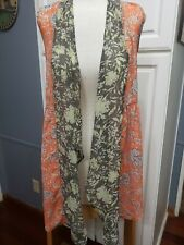 Sleeveless sheer cover up woman's cardigan NWT