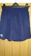 Men's Canterbury Sports Running Fitness Shorts Blue Medium