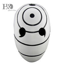 High-grade Resin White Naruto Mask Collectible Statue Halloween Costume Props