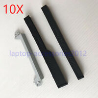 10pcs for Dell Latitude E5440 Hard Drive Caddy HDD + Rubber Rails Left&Right