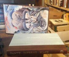 Dantes Inferno 2004 FOLIO SOCIETY Illustrated by BLAKE Leather/Silk Bound RARE
