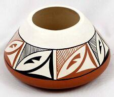1984 Native American Jemez Ceramic Pottery Bowl by Dorela Tosa, 4''  DW #358