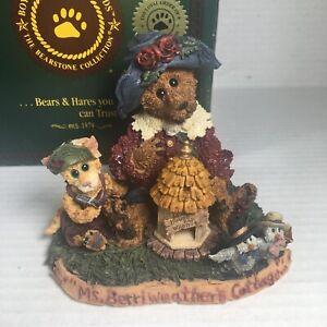 "Vintage Boyds Bears & Friends ""Ms Berriweather's Cottage"" 1998"