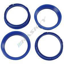 4 Centering Rings 66,6 - 57,1 BLUE Rims Platinum CMS Schmidt Revolution AUDI NEW