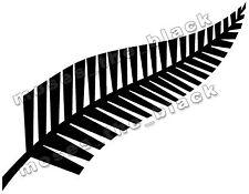 1x New Zealand Fern Symbol Decal *  20.5X 6.5cm Car Vinyl Sticker, H.Q. Vinyl