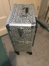 Extra Large Make Up Case Hairdressing Vanity Beauty Trolley Cosmetic Box Storage