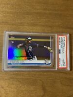 2019 Topps Fernando Tatis Jr. Rainbow Foil Rookie Card RC #410 PSA 10 GEM MINT