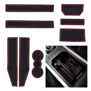 Gate Slot Mats Pad Anti Slip Mat Accessories Fit For Range Rover Evoque 12-19