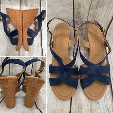 Marks and Spencer Velvet Sandals for