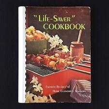 Vtg 1970s Favorite Recipes Of Home Economics Teachers Life Saver Cookbook Crafts