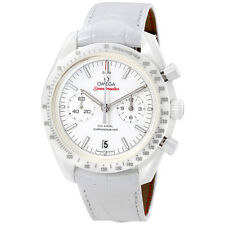 Omega Speedmaster Moonwatch White Side of the Moon Mens Watch 31193445104002
