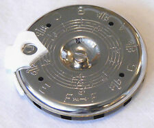 KRATT MK1-S NOTE SELECTOR CHROMATIC PITCH PIPE F to F w/ CASE, MADE IN USA