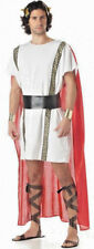 Mens Roman Gladiator Toga Spartan Warrior Greek God Fancy Dress Costume Medium