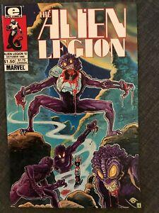 Alien Legion #10 Epic/Marvel October 1985 1st Series NM- (9.2)