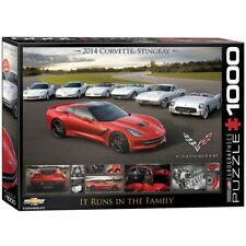 EG60000736 - Eurographics Puzzle 1000 Pc - Corvette - Runs in the Family