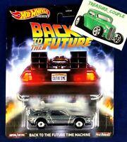 2020 Hot Wheels - Pop Culture - Back to the Future - Time Machine - Delorean