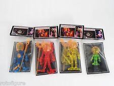 Outer Space Men SDCC 2012 4 pcs set aliens Orbitron Four Horsemen Cyclops Gemini