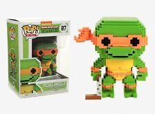 Funko Pop 8-Bit: Teenage Mutant Ninja Turtles - Michelangelo Vinyl Figure #22986